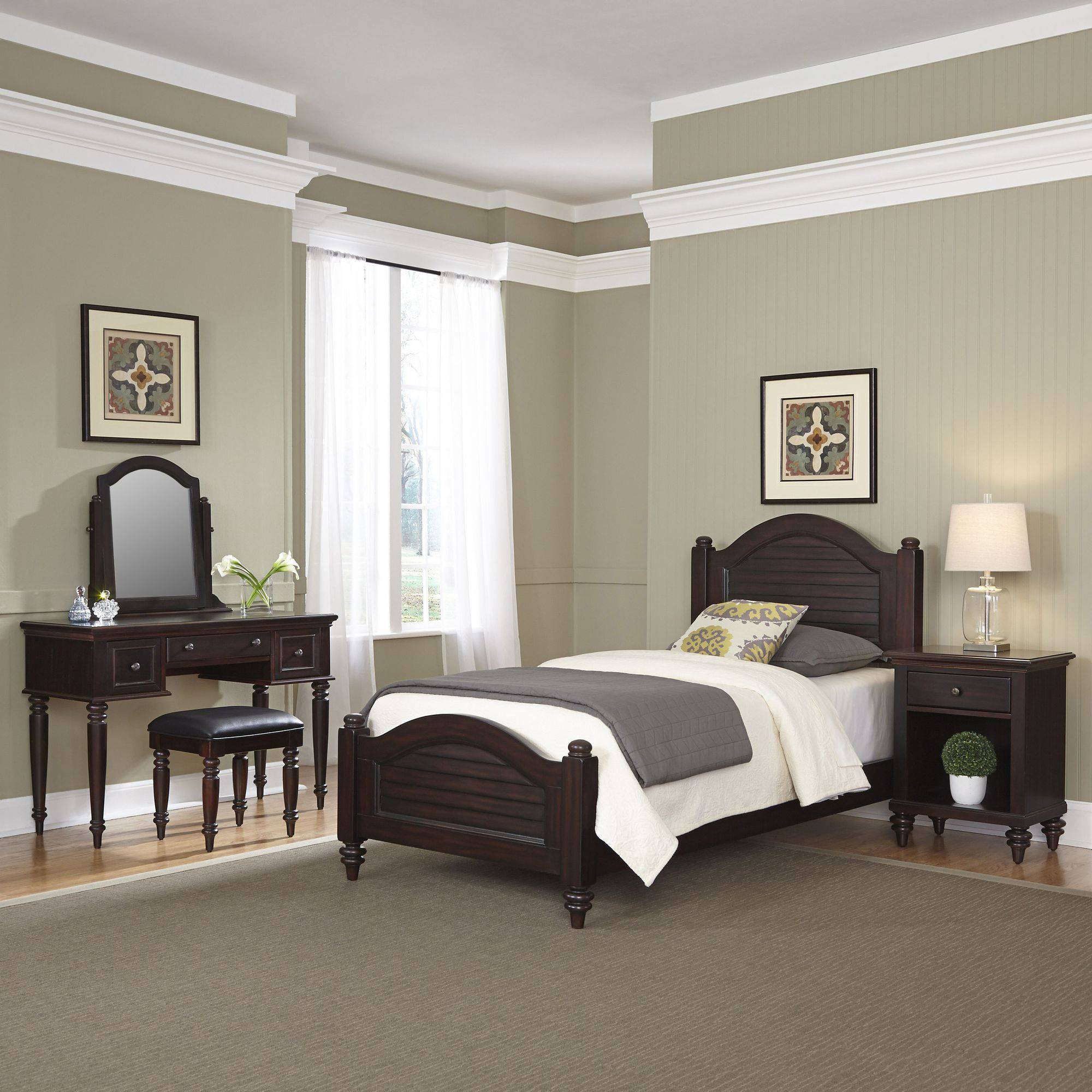 Home Styles Bermuda Bedroom Furniture Collection Espresso Finish
