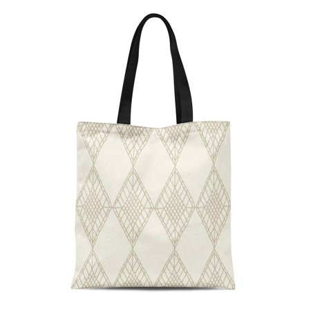 ASHLEIGH Canvas Tote Bag Knitted Patterns Crochet Mesh Knitting Woven Macrame in the Reusable Shoulder Grocery Shopping Bags (Macrame Bag Pattern)