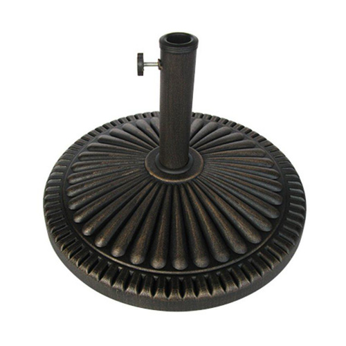 BOND MFG COMPANY 69569 Four Seasons Bronze Umbrella Base