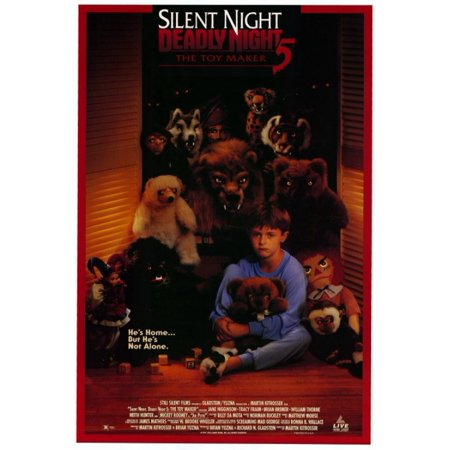 Silent Night Deadly Night 5 The Toy Maker Movie Poster Print  27 X 40