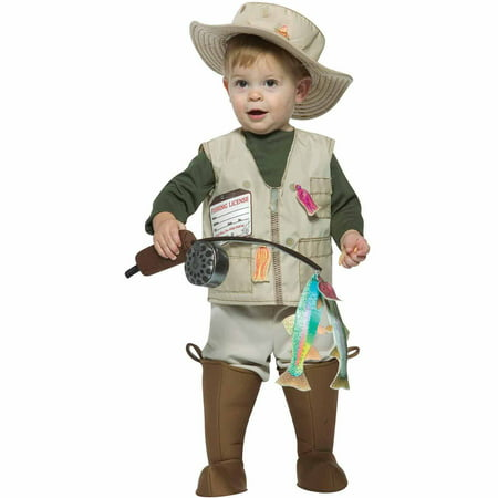 Future Fisherman Infant Halloween Costume, Size 18-24 Months - Newborn Costumes 0 3 Months
