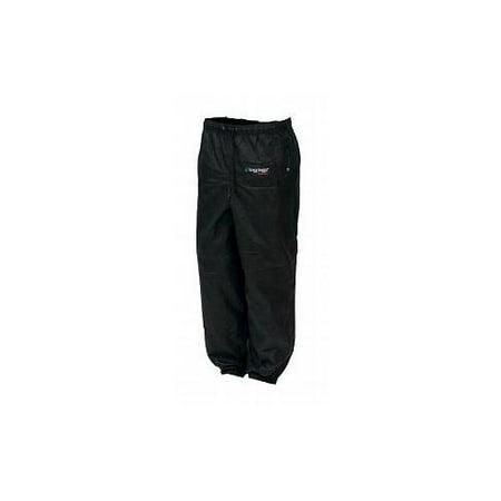 Frogg Toggs Pro Action Womens Classic Rain Pants Black (Rain Pants For Woman)