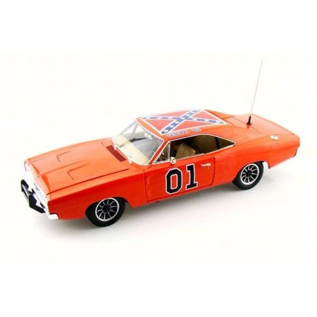 1969 The Dukes of Hazzard General Lee Dodge Charger #01,  Auto World AMM964 - 1/18 Scale Diecast Model Toy Car
