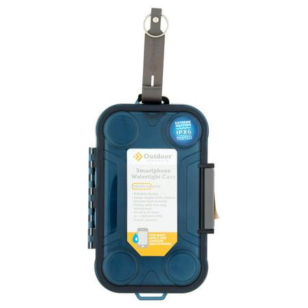 low priced efeca e494e Outdoor Products Smartphone Watertight Case - Box, Blue - Walmart.com