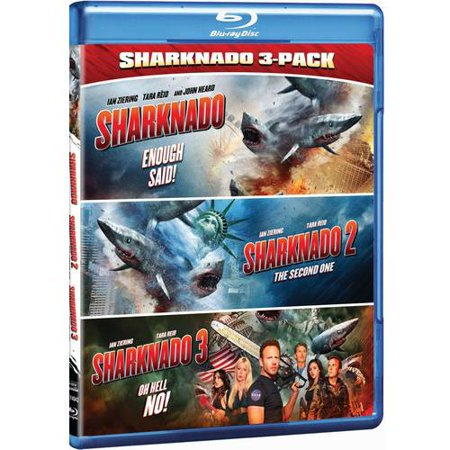 Sharknado Triple Feature  Blu Ray   Walmart Exclusive