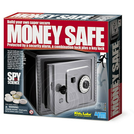 Spy Gear Safe (4M Spy Science Build Your Own Money Safe)