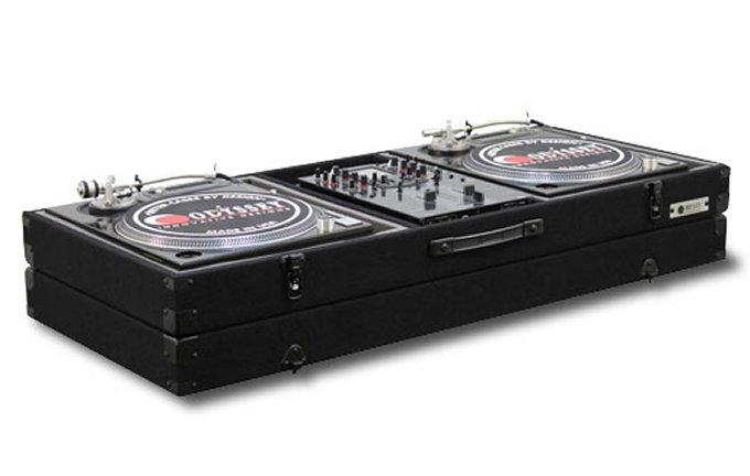 Odyssey CBM10E Economy Battle Mode Pro DJ Turntable Mixer Coffin Case Black by Odyssey Case