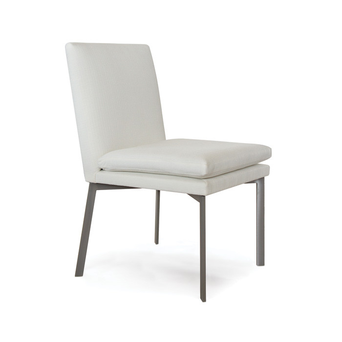 """Eclipse Home Collection Rexford Dining Chair Galveston Sandlewood Nickel Nailheads 19"""" L x 25"""" W x 35"""" H by"""