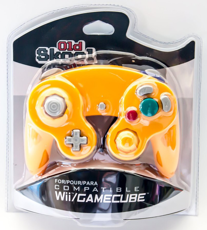 GameCube / Wii Compatible Controller - Spice (Orange)