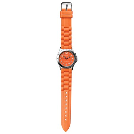 Water resistant, Nurse Watch with Silicon Strap and EL Backlight by Dakota