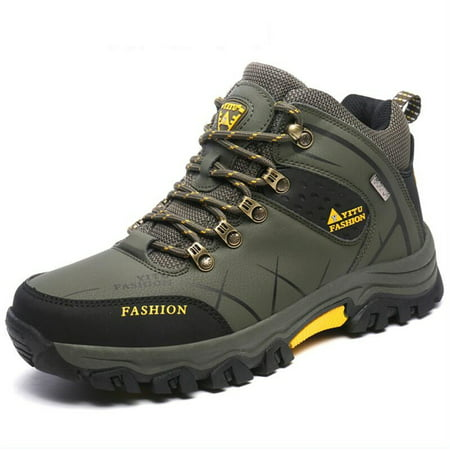 Mens Trail Hiking Boots Waterproof Athletic Outdoors Safety Sports Running