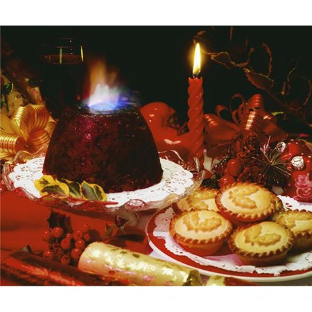 Traditional Irish Christmas Dinner.Posterazzi Dpi1809187 Traditional Christmas Dinner In Ireland Ireland Poster Print By The Irish Image Collection 14 X 16