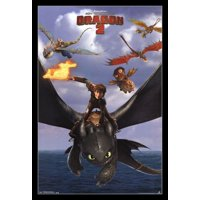 Dreamworks How to Train Your Dragon 2 - Flight Poster Print