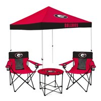 Georgia Bulldogs Tailgate Canopy Tent, Table, & Chairs Set - No Size