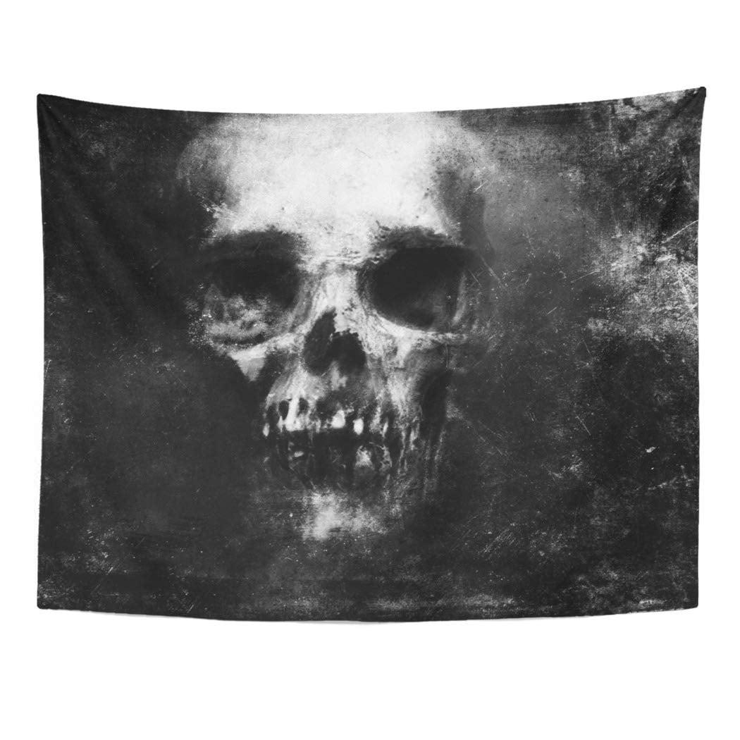 ZEALGNED Face Scary Skull Halloween Devil Metal Monster ...