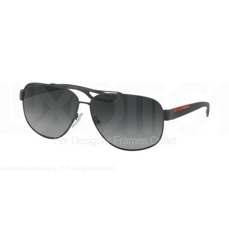 a05a87a67206 Prada - PRADA SPORT Sunglasses PS 58QS TFZ5W1 Grey Rubber 63MM - Walmart.com
