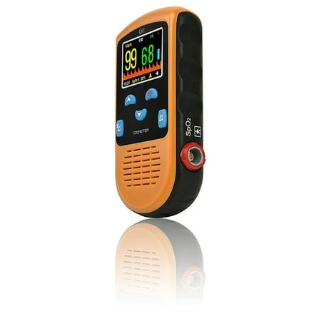 - CMI PC-66L Handheld Pulse Oximeter with Adult Sensor (Rechargeable)