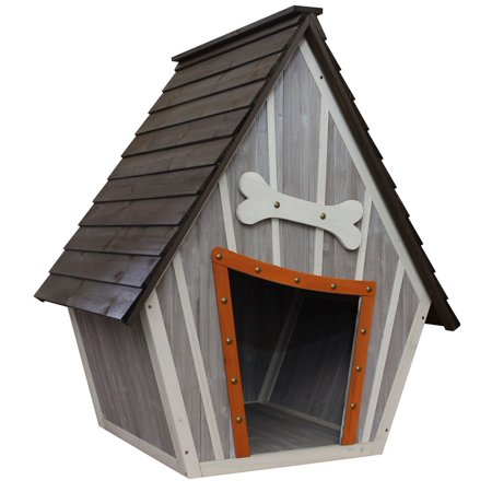 Innovation Pet Whimsical Dog House 35.4 in x 30.3 in x 42.9 in Trendy Pet House