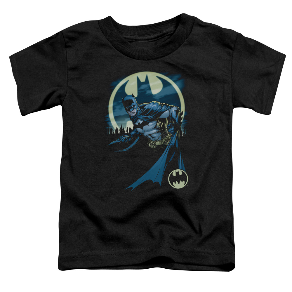 Batman/Heed The Call   S/S Toddler Tee   Black      Bm2257