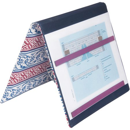 Navy Fold-Up Knitting Pattern Holder 7