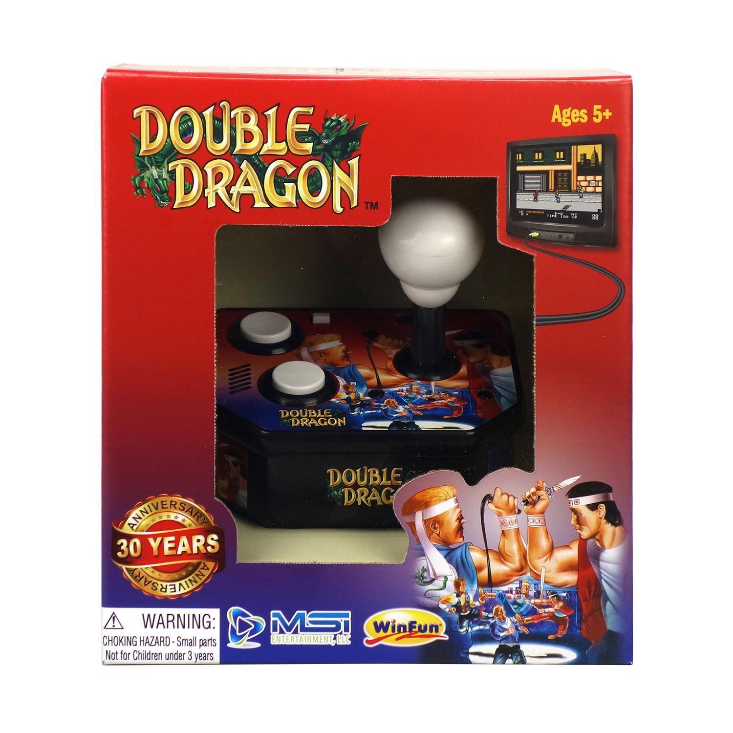 Double Dragon TV Arcade System