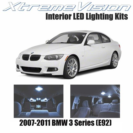 Xtremevision Led For Bmw 3 Series  E92  2007 2011  14 Pieces  Cool White Premium Interior Led Kit Package   Installation Tool