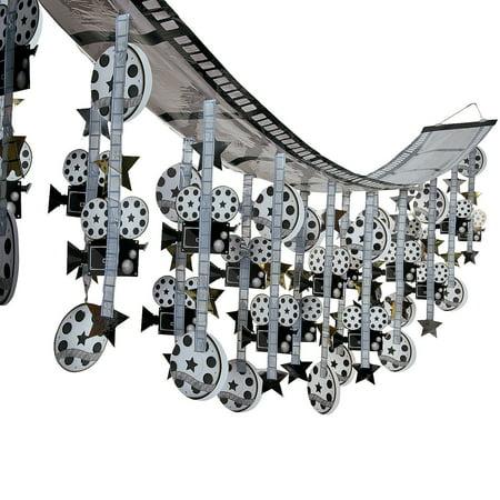 film strip ceiling decoration. 3 7/8