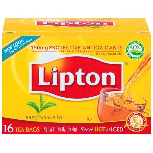 Lipton Beverage:  Tea Bags, 16 Ct