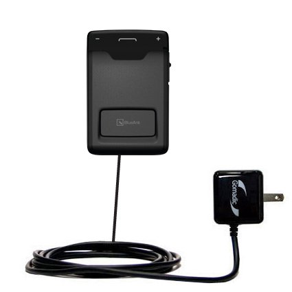 Speakerphone Plug In (Gomadic Intelligent Compact AC Home Wall Charger suitable for the BlueAnt Sense Speakerphone - High output power with a convenient, foldable plug)
