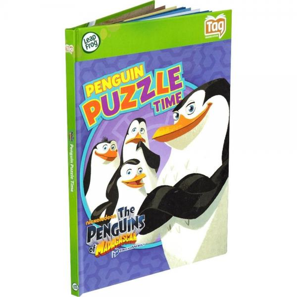 LeapFrog Tag Game Book: Penguins of Madagascar Puzzle Time by