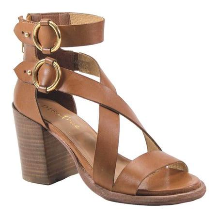 0579cb7ed342 Women s Diba True Hey You Heeled Sandal Tan Metallic Leather 8.5 M - image  1 ...