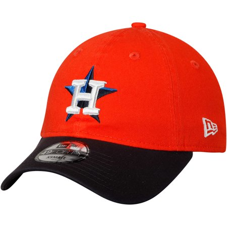 Houston Astros New Era Core Fit Replica 49FORTY Fitted Hat - Orange ()