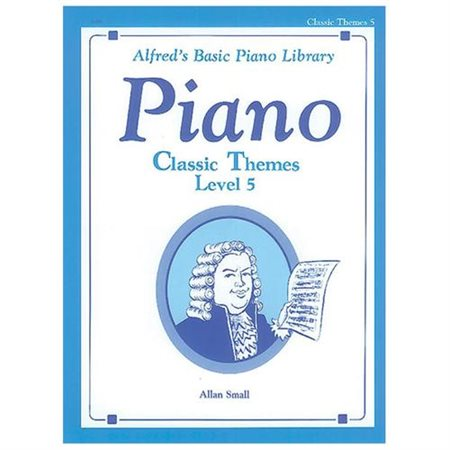 Basic Piano Course: Classic Themes Book 5 A002