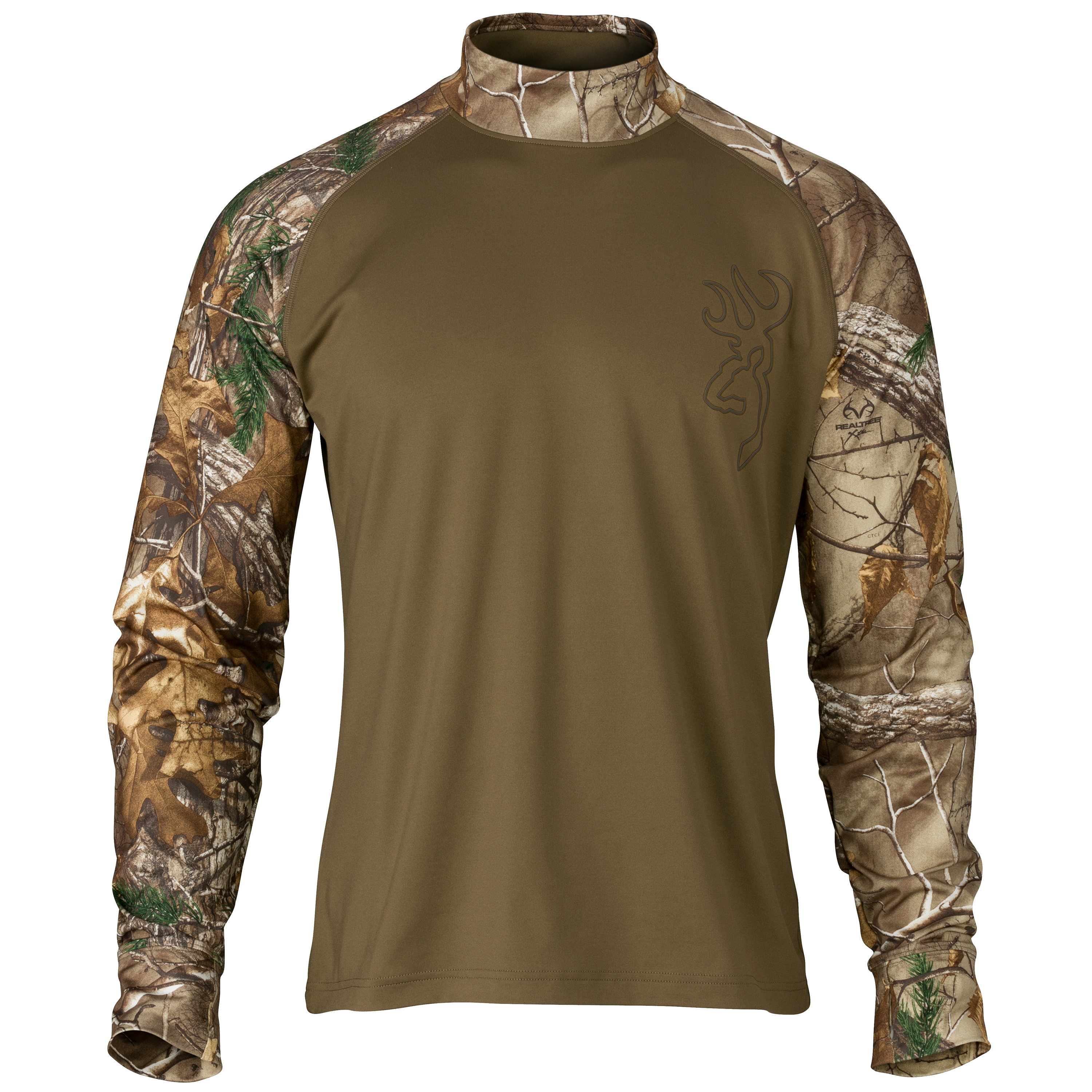 Browning Hell's Canyon Riser Base Layer Top Realtree Xtra, 2X-Large