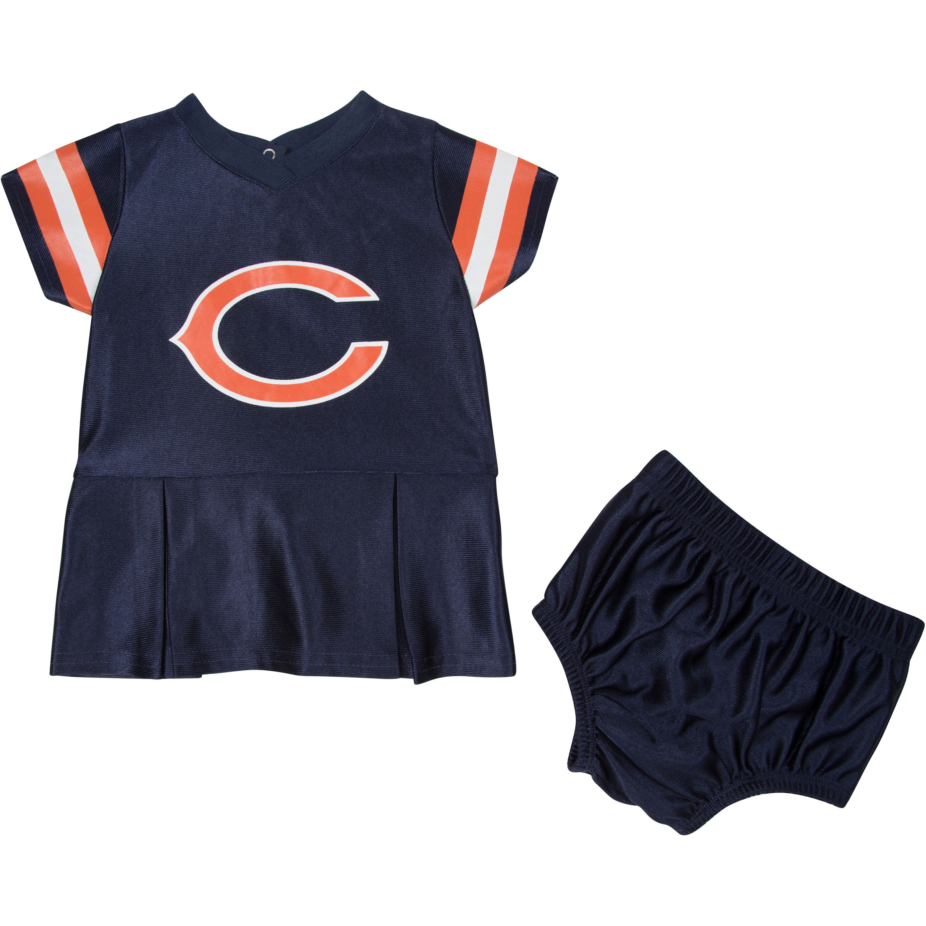 Chicago Bears Infant Girl Dress & Underwear 2 Pack, 0-3 Months by Gerber Childrenswear, LLC