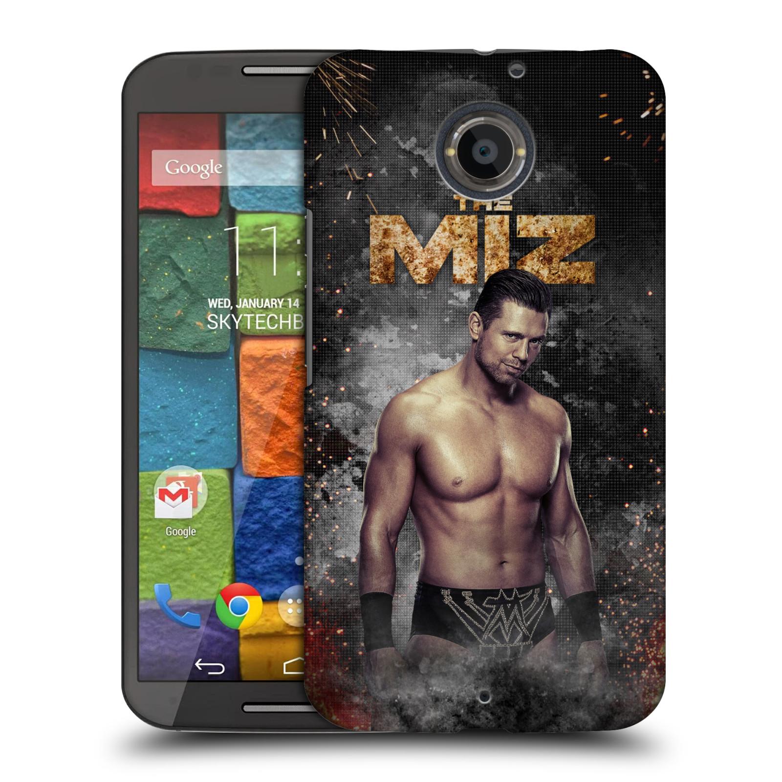 OFFICIAL WWE THE MIZ HARD BACK CASE FOR MOTOROLA PHONES 1