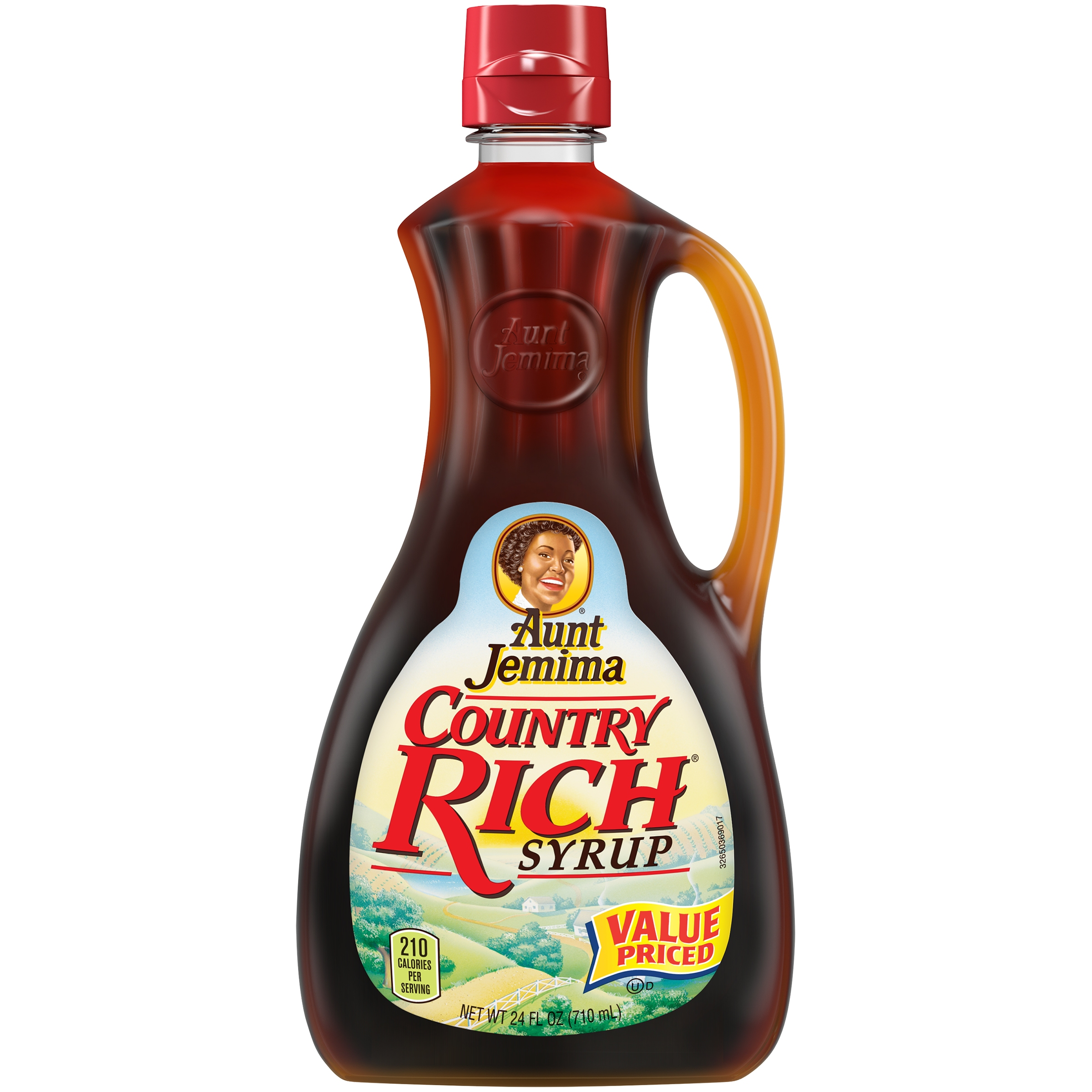 (3 Pack) Aunt Jemima Country Rich Syrup, 24 oz