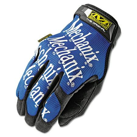 Mechanix Wear The Original Work Gloves, Blue/Black, Large -MNXMG03010