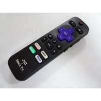 JVC LT-65MAW595 Roku TV Remote Netflix ESPN+ Hulu Roku Channel RC440 NEW