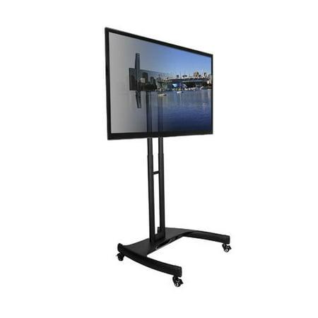 Kanto MTM65 Mobile TV Mount - Steel Frame, Black