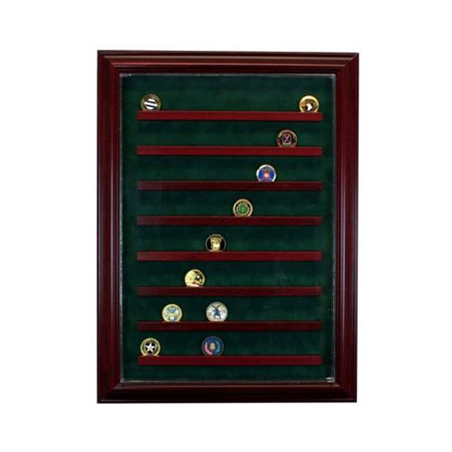 Perfect Cases PC-64COINCB-C 6 Graded Card Cabinet Style D...