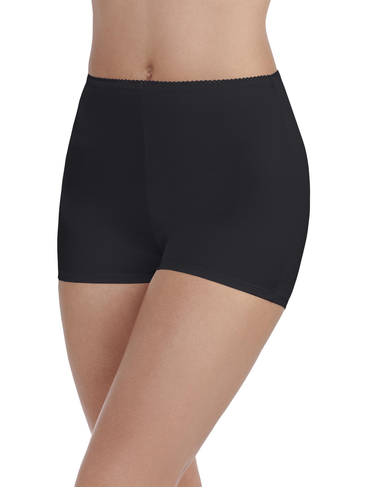Women's Undershapers Light Control Boyshort Panty, 3 Pack, Style 3442301