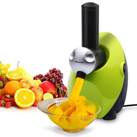 EXCELVAN Frozen Healthy Fruit Ice Cream/ Frozen Yogurt and Dessert Maker Blender Sweet Treat Smoothie