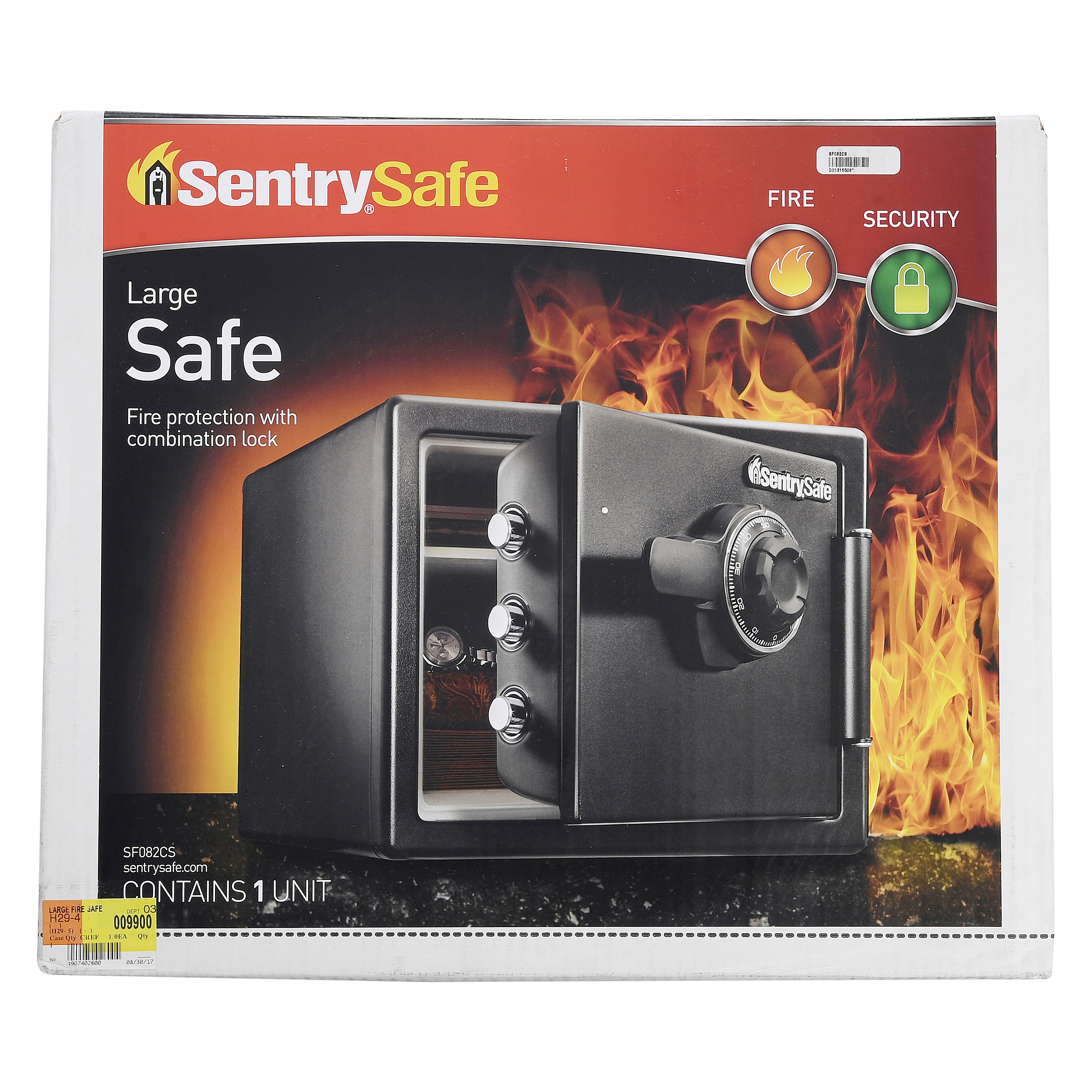 SentrySafe Large Fire Safe with Combo