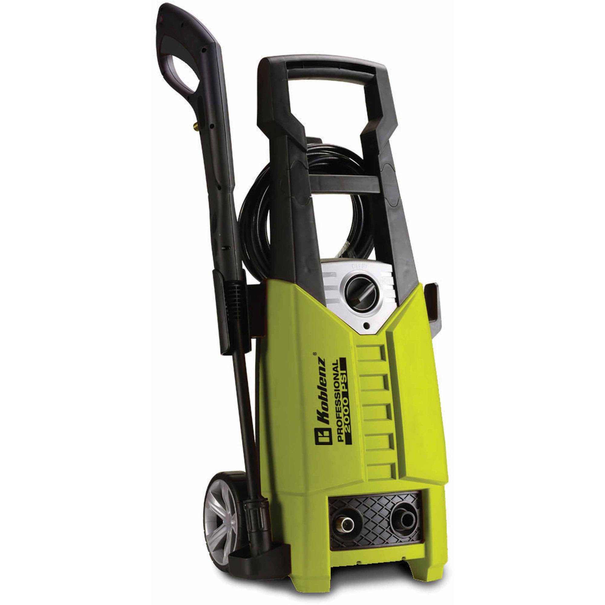 Koblenz 2000 PSI Pressure Washer, Yellow