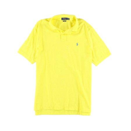 Ralph Lauren Mens Cotton Mesh Rugby Polo Shirt