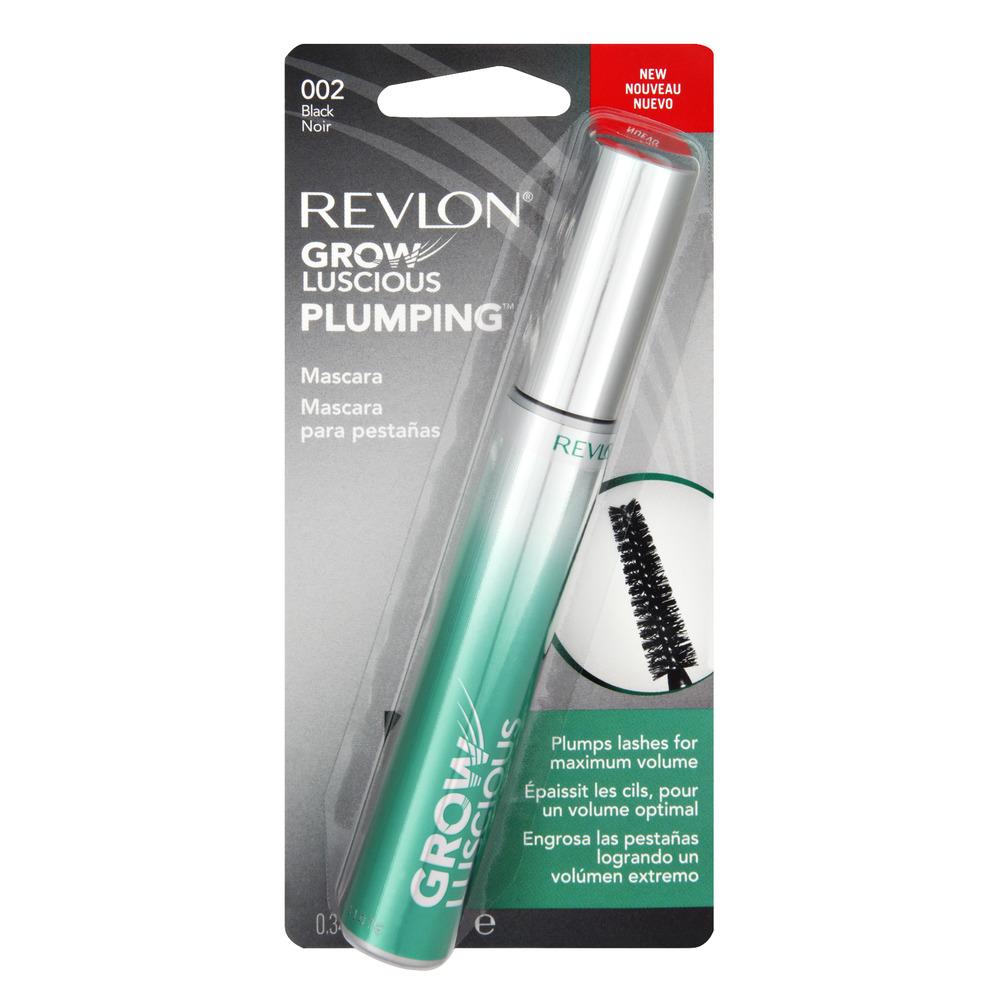 Revlon Grow Luscious Plumping 002 Black Mascara, 1.0 CT