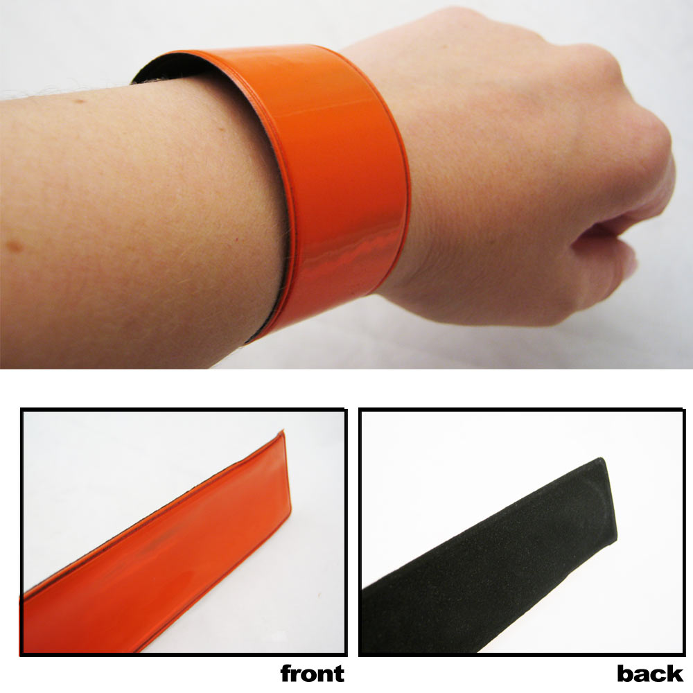 1 Reflective Wrist Band Safety Arm High Visibility Construction Traffic Running