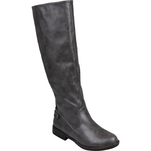 Brinley Co. Women's Mid-calf Round Toe Boots
