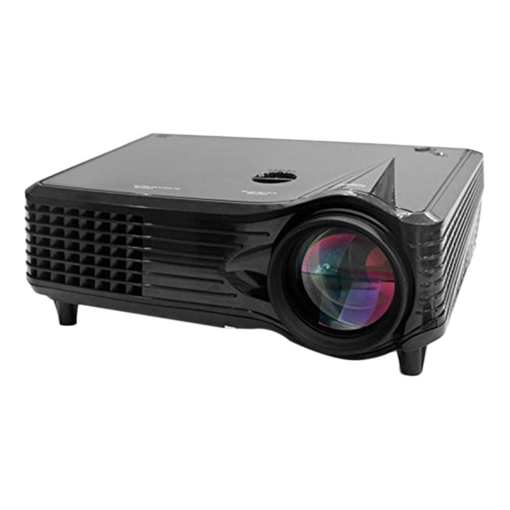 Portable Compact HD 1080p 2000 Lumen Mini Projector Home ...